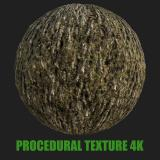 PBR Texture of Tree Bark #6