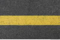 asphalt road line yellow