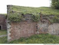 building bricked ruin overgrown old 0001