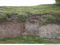 building bricked ruin overgrown old 0003