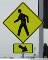 pedestrian traffic sign 0002