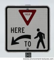 pedestrian traffic sign 0003