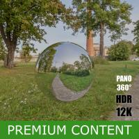 HDR Panorama 360° of Background Park