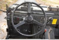 interior army vehicle veteran jeep 0040