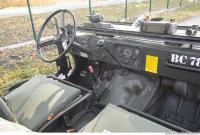 interior army vehicle veteran jeep 0041