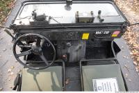 interior army vehicle veteran jeep 0046