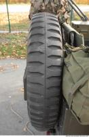 tire army vehicle veteran jeep 0005