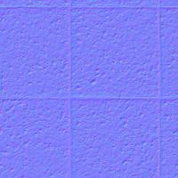 seamless tile floor normal map 0003