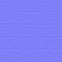 seamless tile floor normal map 0005