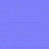 seamless tile floor normal map 0006
