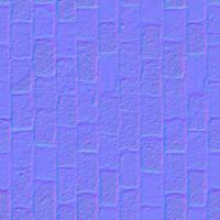 seamless tile floor normal map 0009