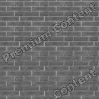 seamless wall bricks bump 0004