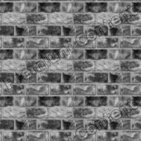 seamless wall bricks bump 0005