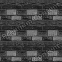seamless wall bricks bump 0006