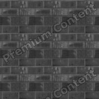seamless wall bricks bump 0010
