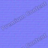 seamless wall bricks normal map 0004