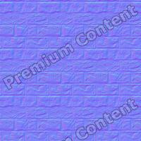 seamless wall bricks normal map 0005