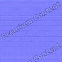 seamless wall bricks normal map 0008
