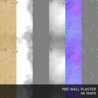 PBR texture of wall plaster painted #2