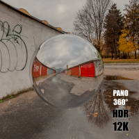 HDR Panorama 360° of Background Street