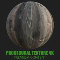 PBR Texture of Wood Planks #9