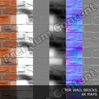 PBR texture of bricks #2