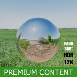 HDR Panorama 360° of Background Field