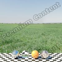 Panorama HDR background field