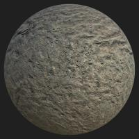 PBR texture of road asphalt #8