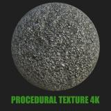 PBR texture of Road Asphalt #10