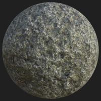 PBR texture of road asphalt #12
