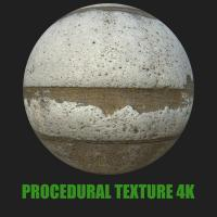 PBR Texture of Concrete Panel #3