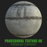 PBR Texture of Concrete Panel #4