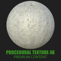 PBR Texture of Concrete Modern #4