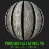 PBR Texture of Wood Planks