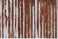rusted corrugated plates metal 0002