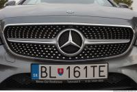 Mercedes Benz E400 coupe logo 0022