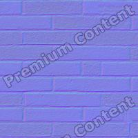 seamles wall bricks normal map 0001