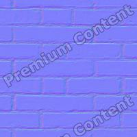 seamles wall bricks normal map 0003