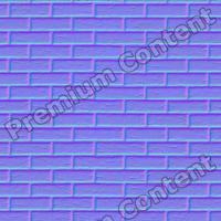 seamles wall bricks normal map 0008