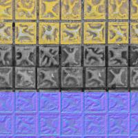 Seamless Textures of Floor + Normal & Bump Mapping