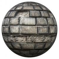 PBR Texture of Wall Bricks