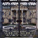 Ornate Metal Doors