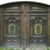 Ornate Wooden Doors