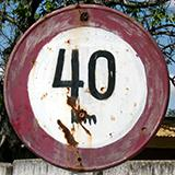 Speed Limit Traffic Signs