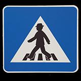 Pedestrians Traffic Signs