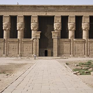 Egypt Dendera Buildings