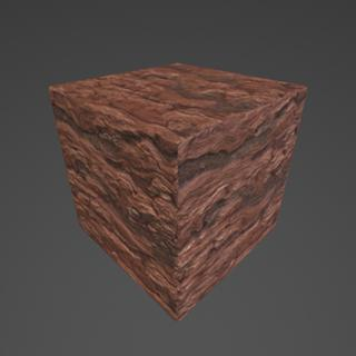 Red Rock Substance Material