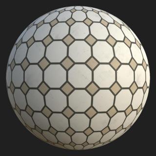 Marble Floor Tiles PBR