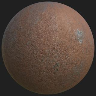 Metal Rusty Substance Material #2